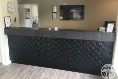 Pressed Tin Panels Original Counter Front Black Gloss
