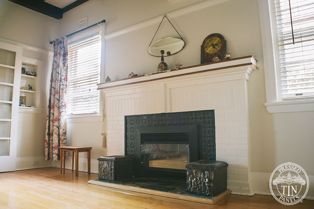 Fireplace Description Part - 49: Lachlan Hearts In Black Installed As A Fire Surround