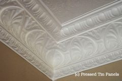 Peacock Cornice installed example