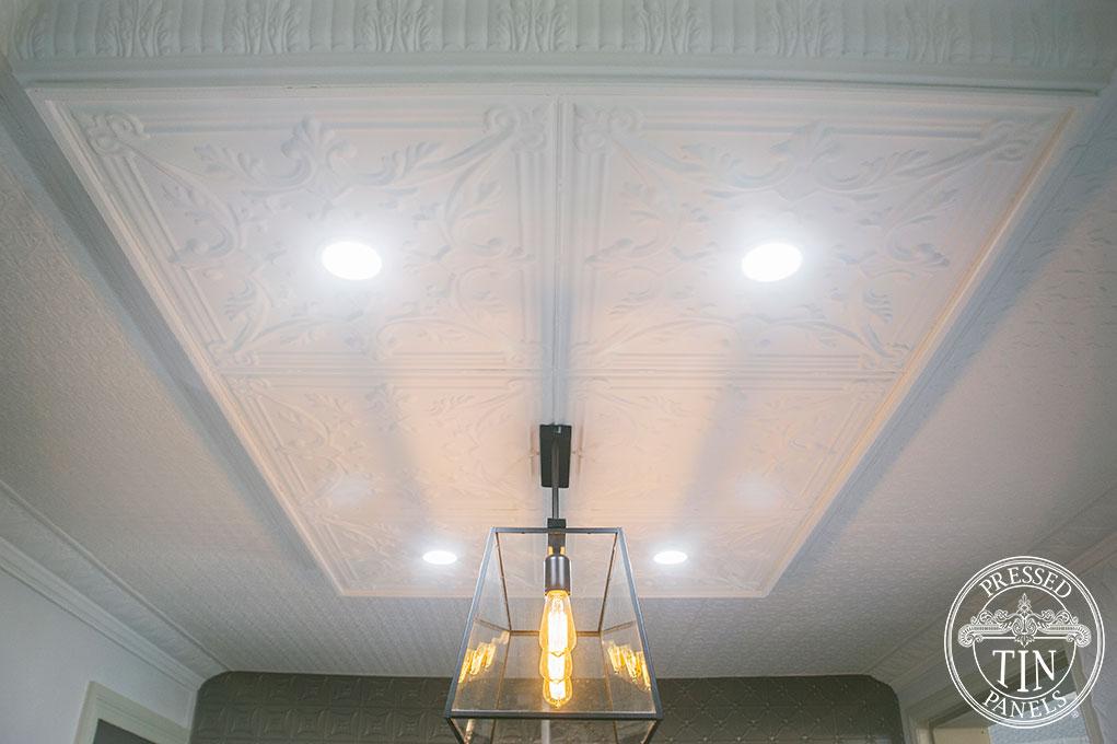 Pressed Tin Panels Showroom Ceiling, Bathurst NSW