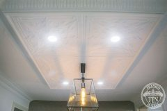 A dropped ceiling featuring the Maple Cornice