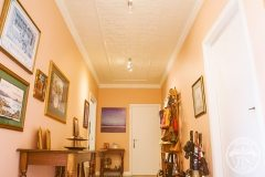 An Entry and Hallway ceiling to envy