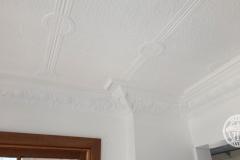 Pressed Tin Panels Victoria Ceiling White Egg & Grape Cornice Corner