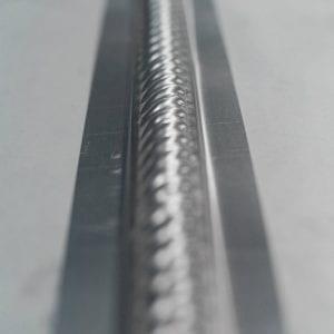 Pressed Tin Panels BarbersPole Border 1800 UnderUnder Length Profile