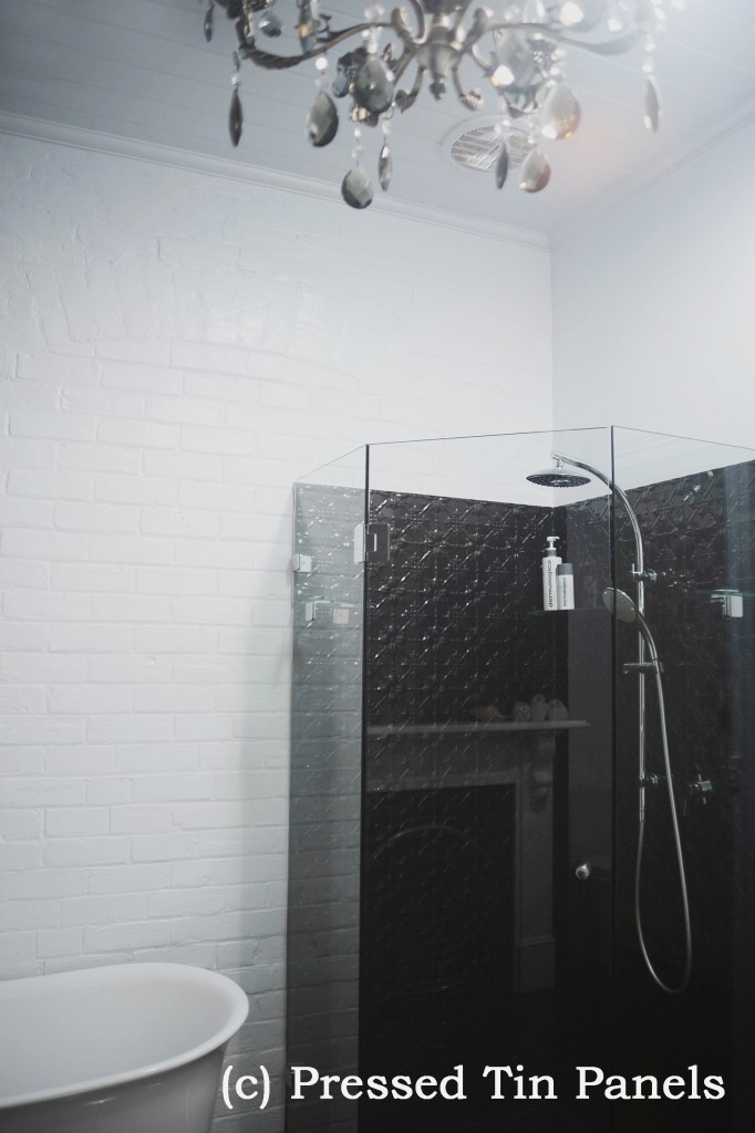 PressedTinPanels_Original900x1800_Bathroom_Shower_Recess_GlossBlack_2