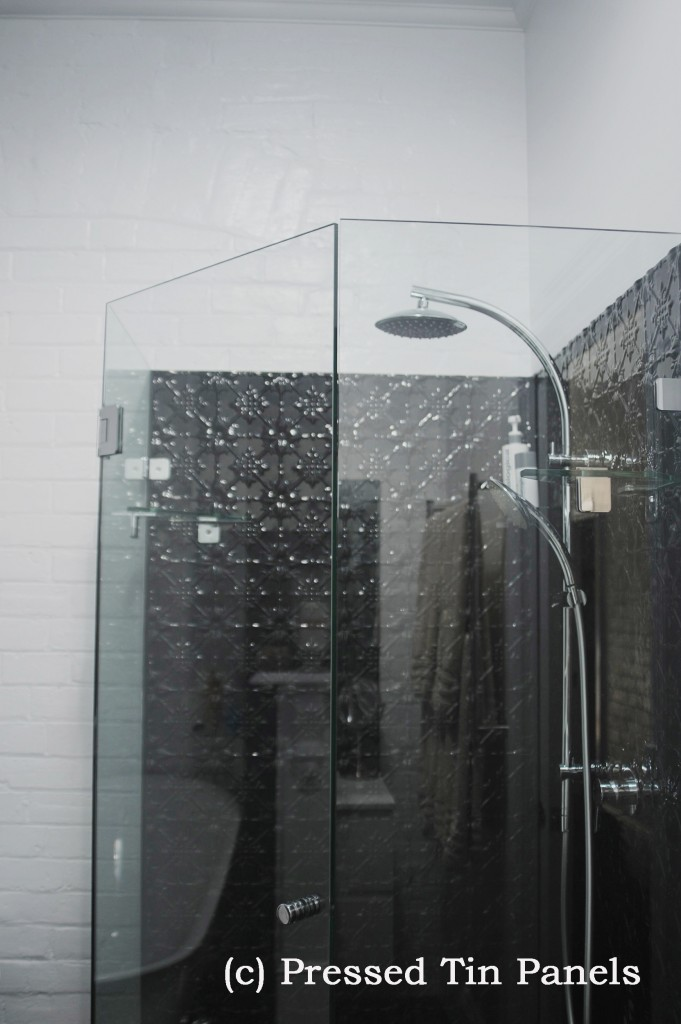 PressedTinPanels_Original900x1800_Bathroom_Shower_Recess_GlossBlack_3