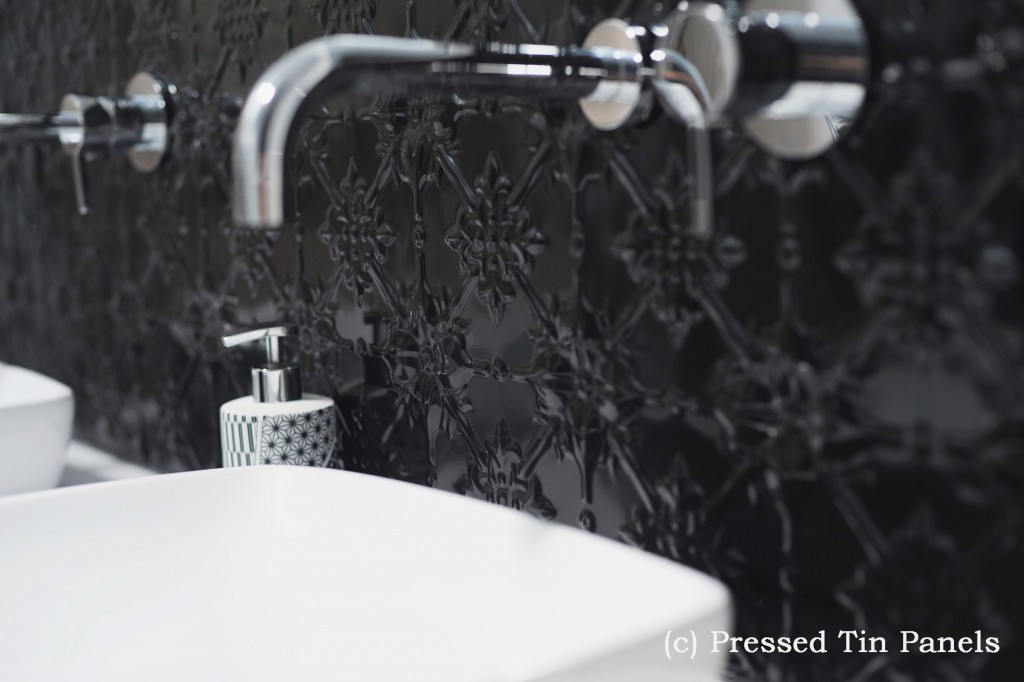 PressedTinPanels_Original900x1800_Bathroom_Splashback_GlossBlack