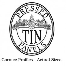 Actual Cornice Profile Sizes