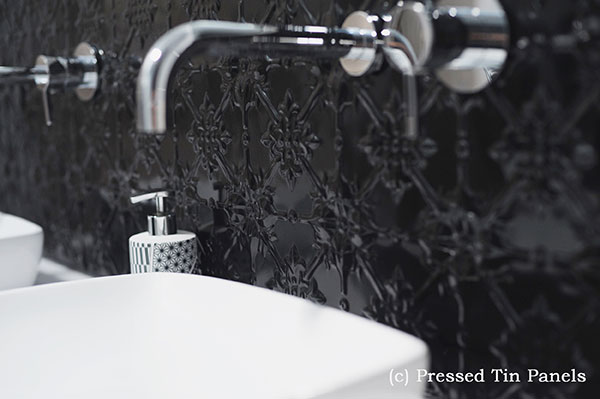 PressedTinPanels_Original900x1800_Bathroom_Splashback_GlossBlack_Slides