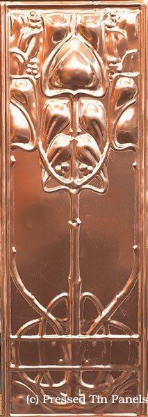 Art Nouveau 305mm x 920mm pattern repeat