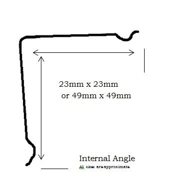Internal Angle profile information