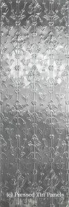 Lily Vertical full panel 620mm x 1840mm approx