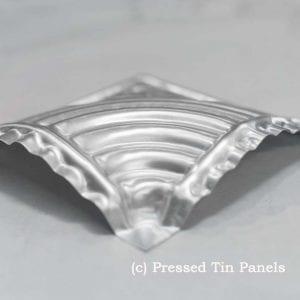Pressed Tin Panels Wattle Border Rosette
