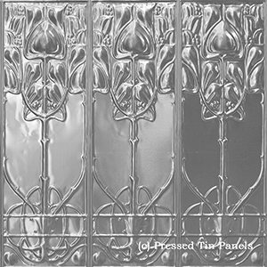 Pressed Tin Panels Art Nouveau