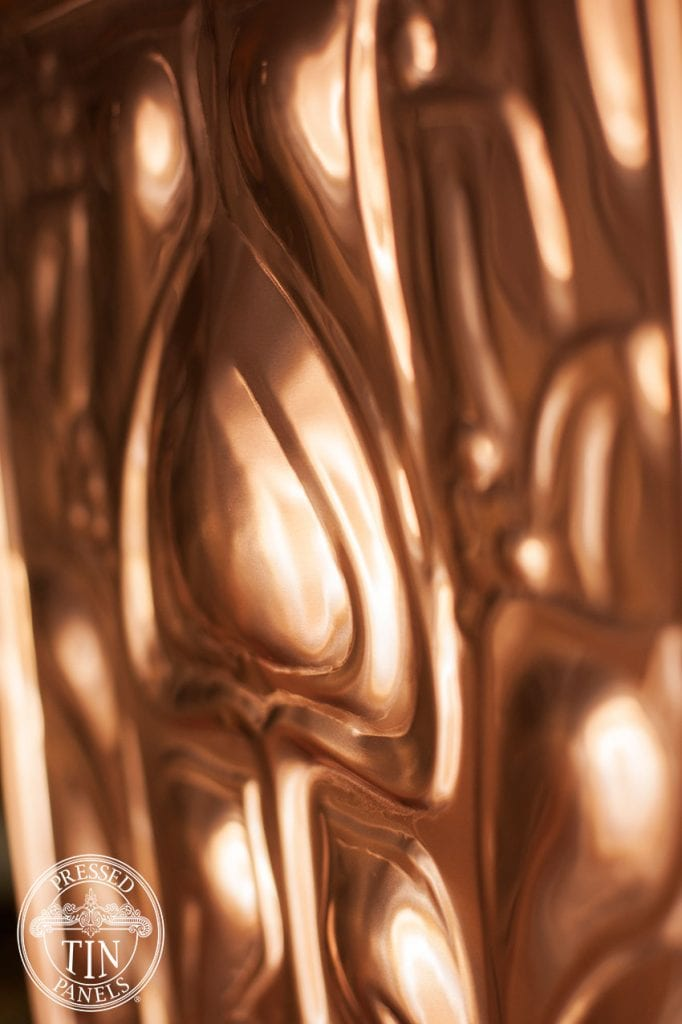 PressedTinPanels_ArtNouveau305x920_Copper_Profile