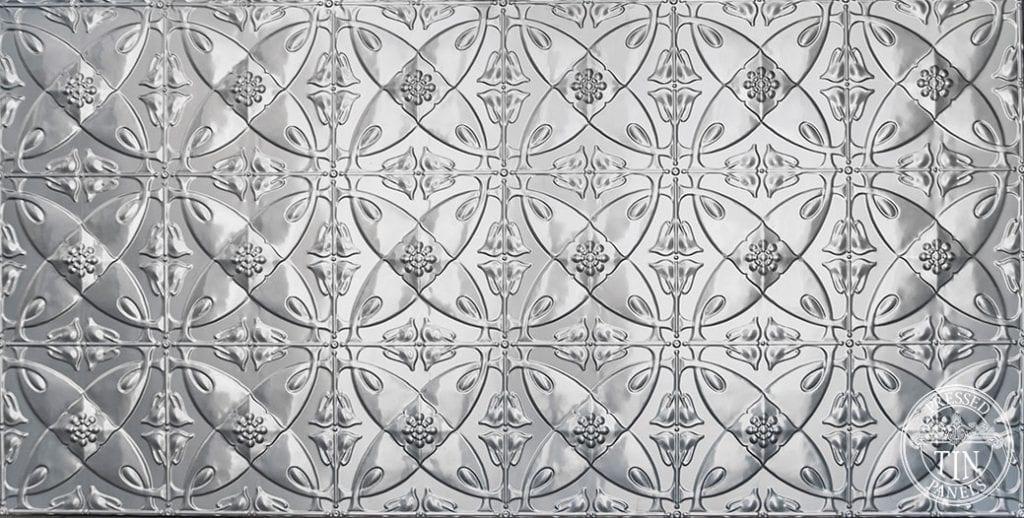 Full pattern image example of pressed tin panels carousel pattern