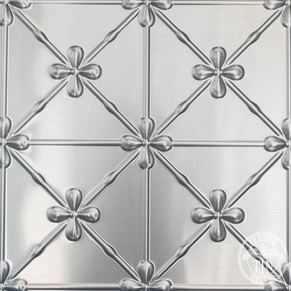 Pressed Tin Panels Clover pattern image example