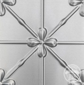 Pressed Tin Panels Clover image example of Pattren Repeat