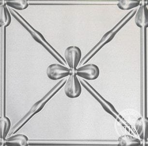 Pressed Tin Panels Clover Design