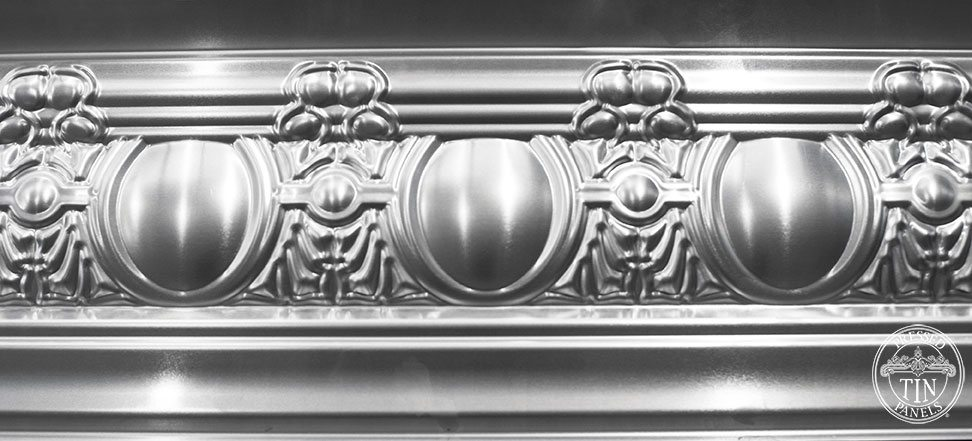 Egg & Grape Cornice closer sectional image