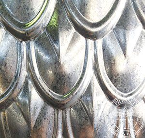 Galvanised FishScale: Image represents 200mm x 200mm