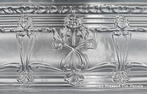 Pressed Tin Panels Georgian 1800 Cornice Thumbnail