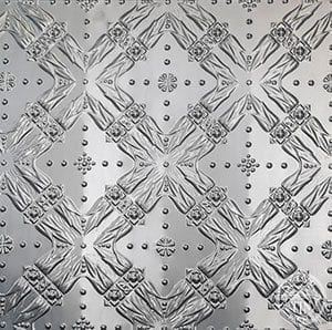 pattern image example of Pressed Tin Panels Golden Bay pattern