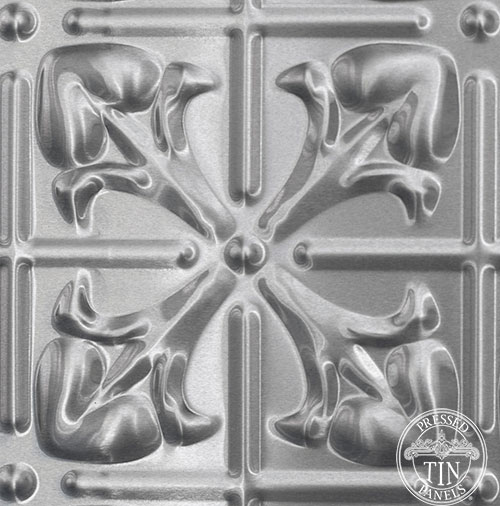 Image example of the pattern repeat - pressed tin panels Lachlan Hearts patterrn