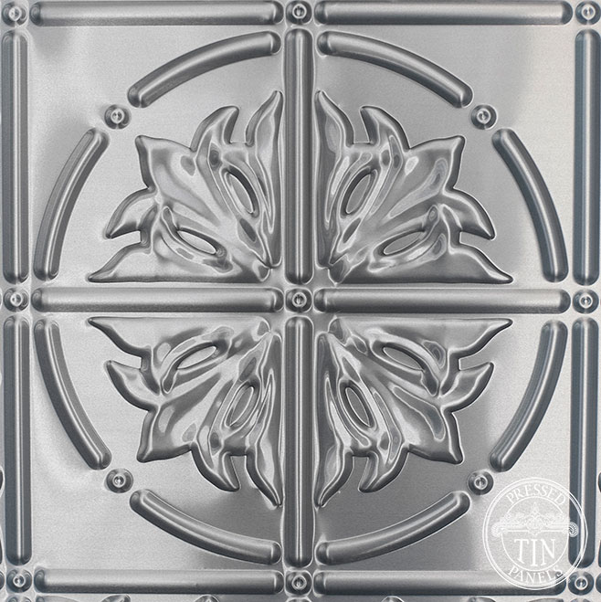 Pattern repeat image example of Pressed Tin Panels Large Maple pattern 2