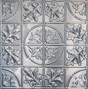 Sectional image example of Pressed Tin Panels Large Maple pattern