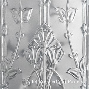 Pressed Tin Panels Lily