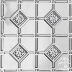 Close up image example of the Mudgee pattern by Pressed Tin Panels