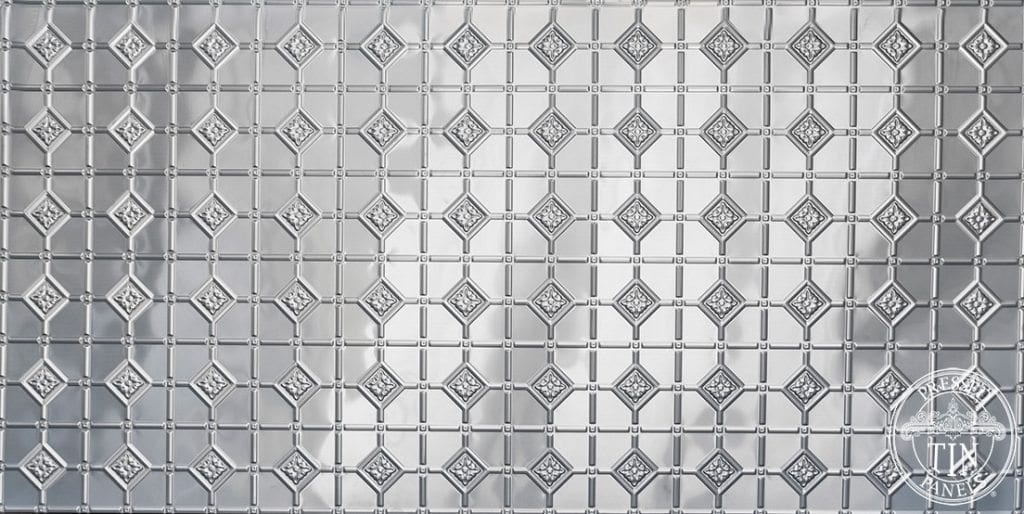 Full size pattern image example of the Mudgee pattern by pressed tin panels