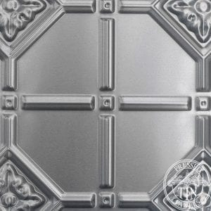 pattern repeat image example of the Mudgee pattern by Pressed Tin Panels