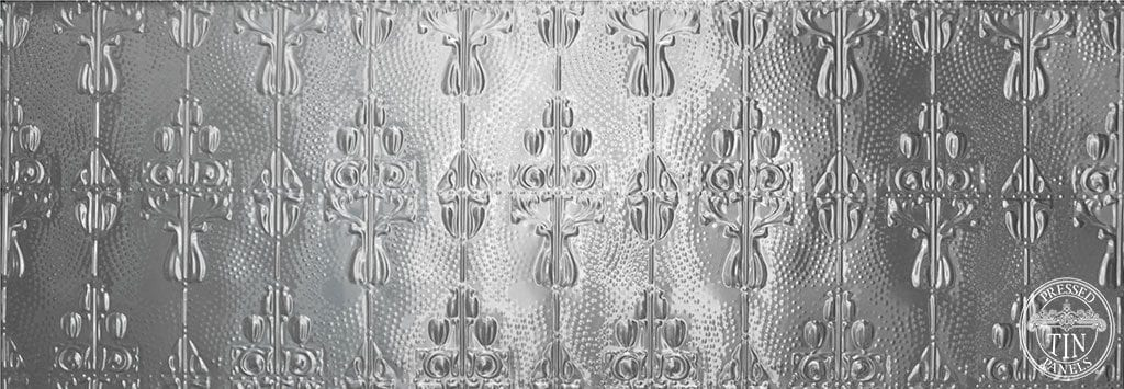 Posy full pressed metal panel 617mm x 1837mm approx: