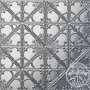 Image example of Pressed Tin Panels Snowflakes pattern