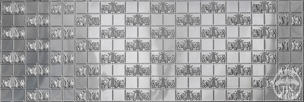 Full panel image example of Pressed Tin Panels Wall Panel Bottom design