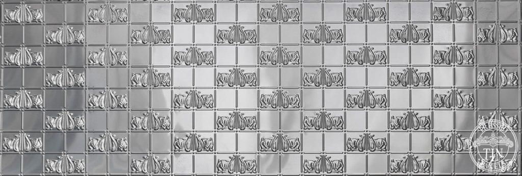Full panel image example of Pressed Tin Panels Wall Panel Bottom design