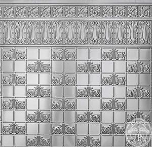 Sectional image example of Pressed Tin Panels Wall Panel design