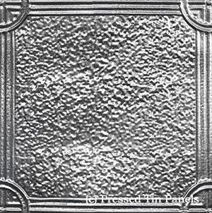 Victoria Galvanised: Image represents 455mm x 455mm approx. size