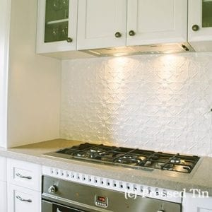Original Kitchen SplashBack Pearl White