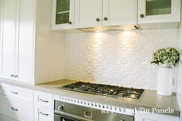 Superieur Original Kitchen Splash Back U2013 Classic White*. Read More ·  PressedTinPanels_Original Splashback