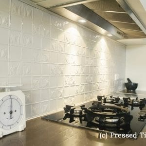 Pressed Tin Panels_Wall Panel Splashback  Grey Nurse