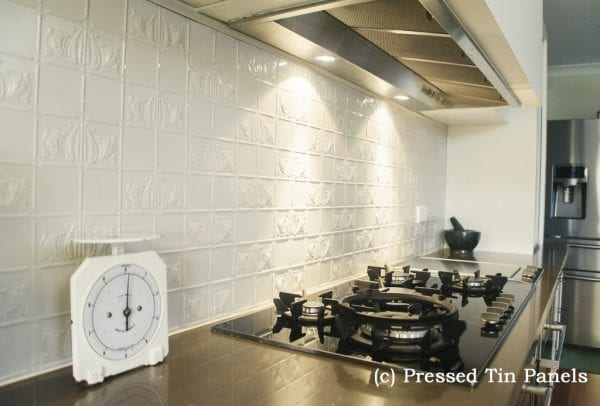 Pressed Tin Panels Wall Panel Splashback Grey Nurse