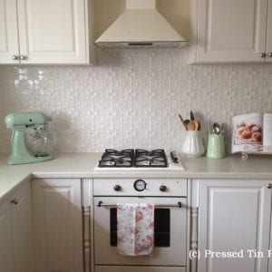 Pressed Tin Panels Original Splashback