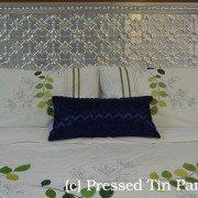 Pressed Tin Bed Head_Original