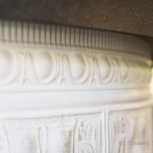 Pressed Tin Panels Counter Front Dado Egg Darte Cornice