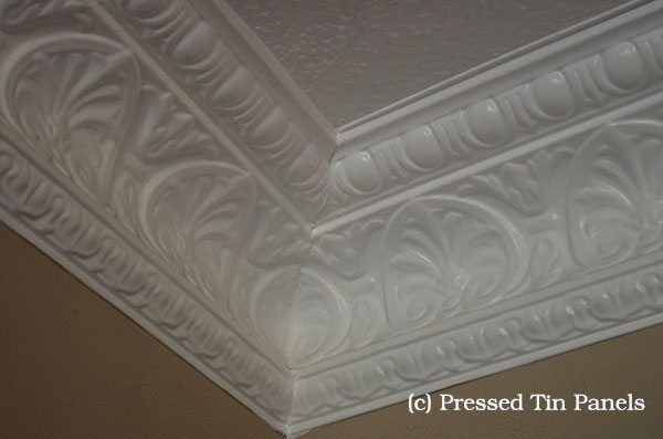 Peacock Cornice -Mitred Internal Corner