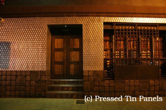 Pressed Tin Panels Fish Scale Galvanised