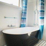Pressed Tin Panels Mudgee Shoji White Bathroom